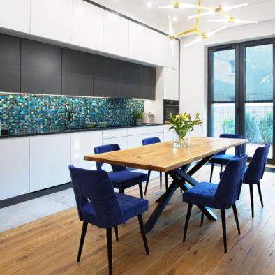Trufle Mozaiki - czarno- turkusowa mieszanka z kolekcji Impresje w kuchni